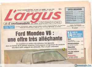 l argus le plus vieux magazine automobile fran ais f te ses 90 ans. Black Bedroom Furniture Sets. Home Design Ideas