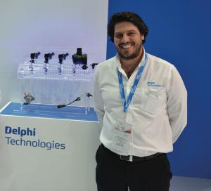 Mehdi Baumel, directeur du Développement des ventes Delphi Technologies, Moyen-Orient et Afrique du Nord