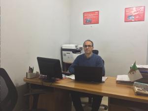 Mouloud Kheddache, gérant de Sarl Kheddache Automobile