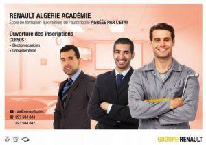 Renault Algérie Académie devient partenaire de l'Algerian Learning Centers