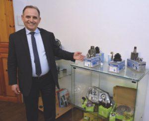 Said Mansour, directeur général d'EMSG  etmembre du Club Economique Algérien