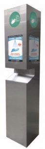 Distri SHA, borne de distribution desolution hydroalcoolique par Bardahl