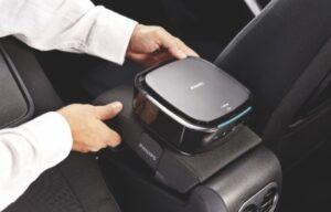 Purificateur d'air intérieur automobile: 100polluants filtrés !
